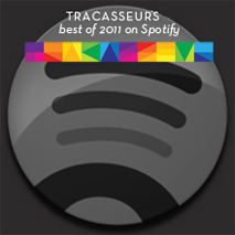 Tracaseur's Top 100 on Spotify 2011